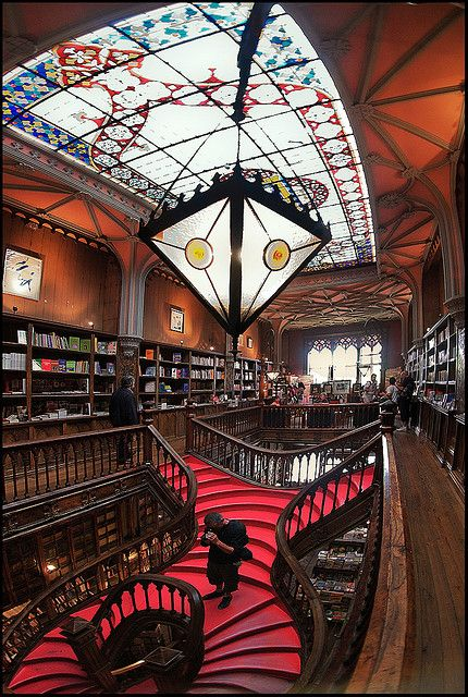 Livrarias,Blog do Mesquita,Portugal - Oporto Lello Bookstore 02