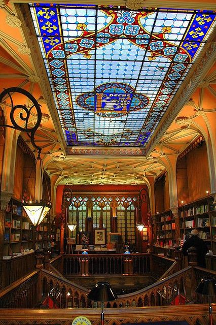 Livrarias,Blog do Mesquita,Portugal - Oporto Lello Bookstore 03