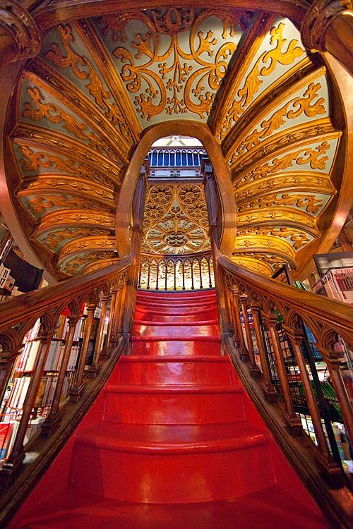 Livrarias,Blog do Mesquita,Portugal - Oporto Lello Bookstore 04