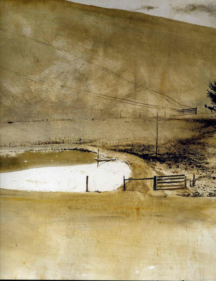 Arte,Aquarela,Pintura, Andrew Wyeth,Blog do Mesquita