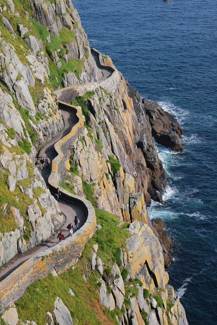 Arte,Fotografia,Irlanda,Cliffside Path,Skellig Michael,Blog do Mesquita 01