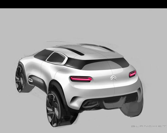Design,Veículos,Citroen Aircross Concept,Blog do Mesquita 01
