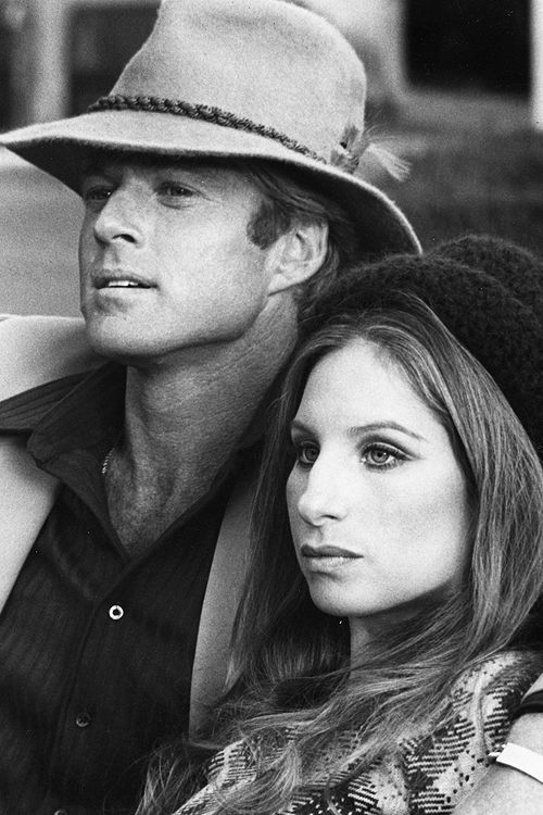 Arte,Cinema,Atores,Atrizes,Filmes,Blog do Mesquita,Robert Redford Barbra Streisand in The Way We Were.Director Sydney Pollack, 1973