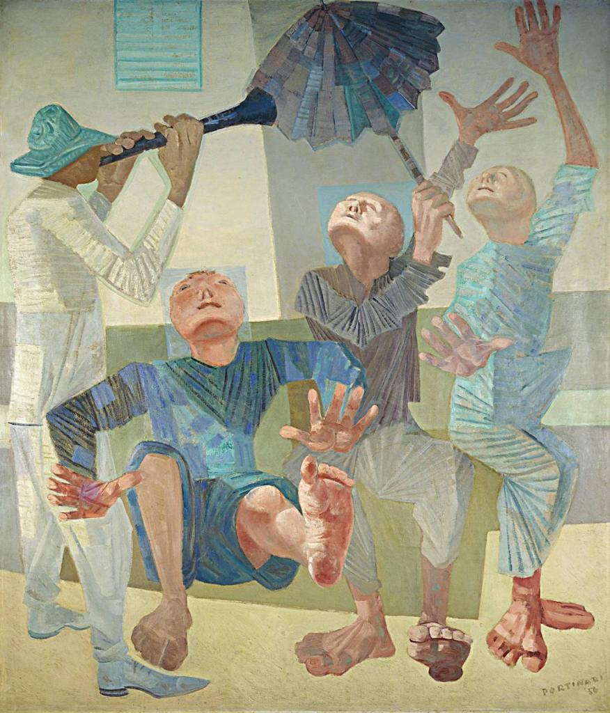 Arte,Pinturas,Portinari,Frevo,1956,Blog do Mesquita