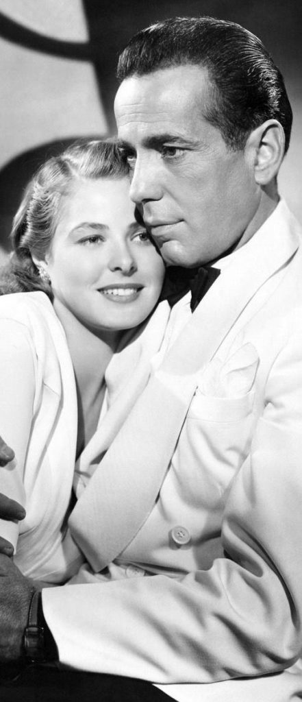 Mitos e Musas do Cinema,Atores,Atrizes,Filmes,Hollywood,Humphrey Bogart , Ingrid Bergman,Casablanca, 1942