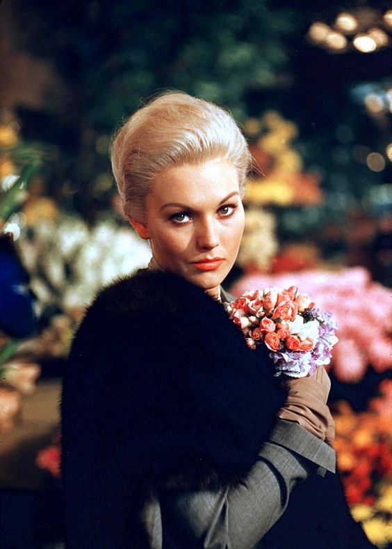 Mitos e Musas do Cinema,Atores,Atrizes,Filmes,Hollywood,Kim Novak, Alfred Hitchcock's Vertigo (1958)