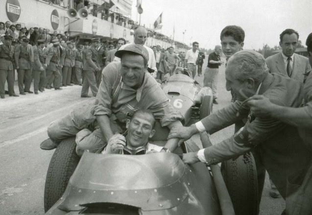 Fórmula UM,GP de Monza,Blog do Mesquita,1956,Stirling Moss