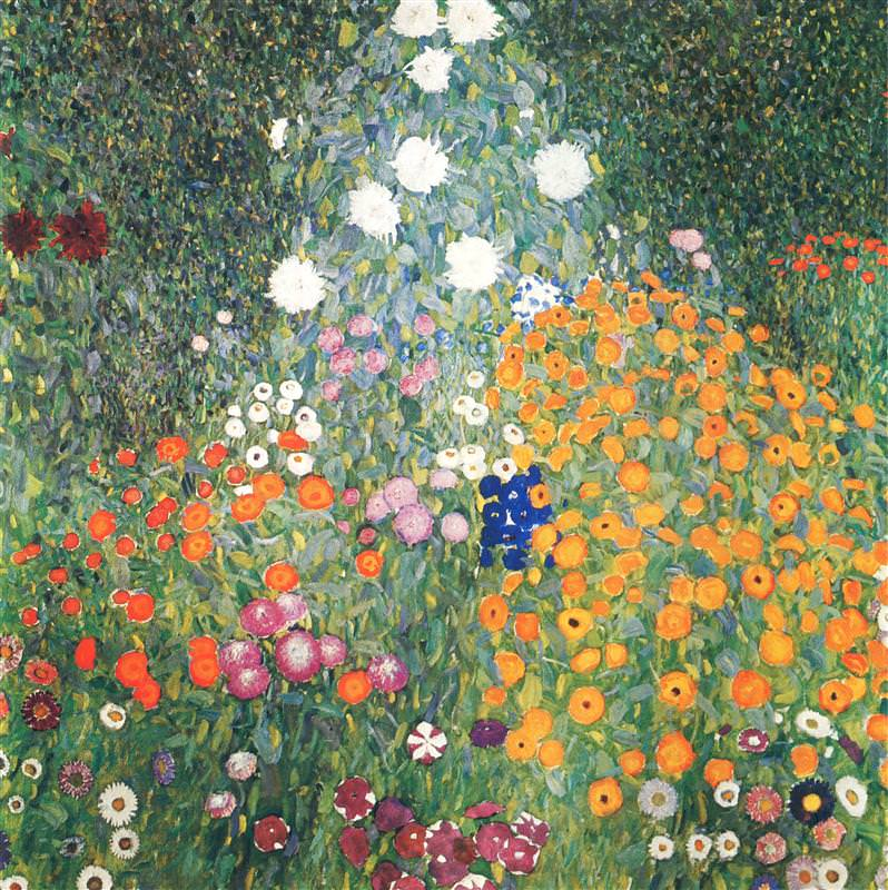 artepinturablog-do-mesquitagustav-klimt1906oleo-sobre-telaflower-garden110x110cmthe-national-gallery-prague
