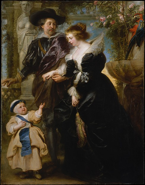 Arte,Artes PlásticasPinturas,Pro dia nascer melhor,Blog do Mesquita,Peter Paul Rubens,Portrait of the Artists Wife and Children