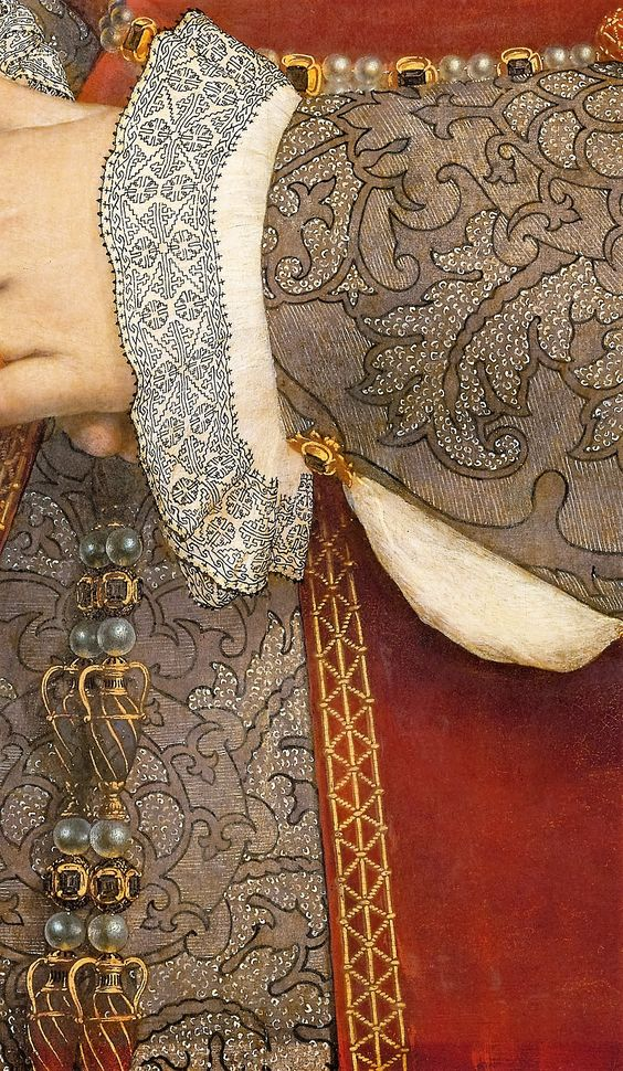 Blog do Mesquita,Arte,Artes Plásticas,Pinturas,Detalhes,Jane Seymour, Queen of England by Hans Holbein the Younger