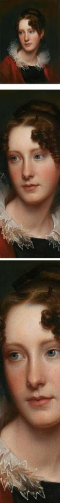 Blog do Mesquita,Arte,Artes Plásticas,Pinturas,Detalhes,Rembrandt,Eye Candy, Peale s portrait of his daughter, Rosalba