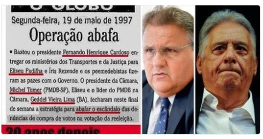 Geddel,Temer,FHC,Blog do Mesquita