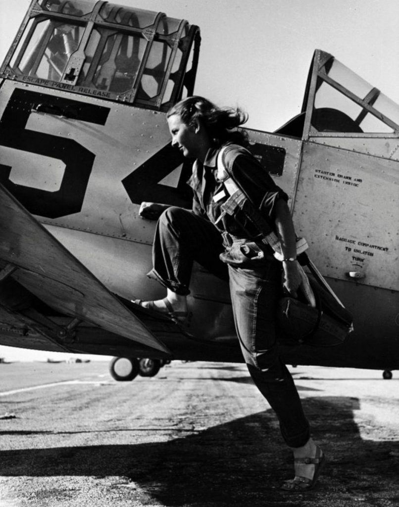 Fotografias,Guerra,HistóriaPilot of the U.S. Women s Air Force, 1943,Peter Stackpole,Blog do Mesquita