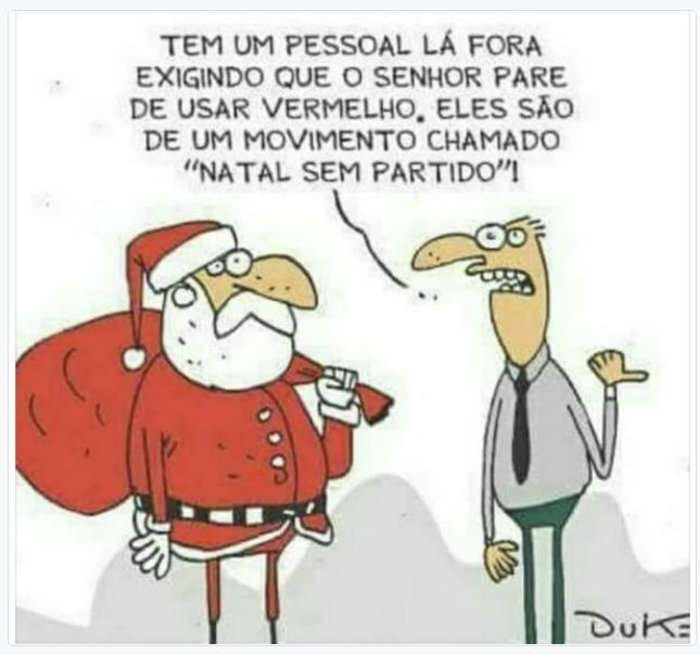 Duke,Humor,Natal sem partido,Blog do Mesquita