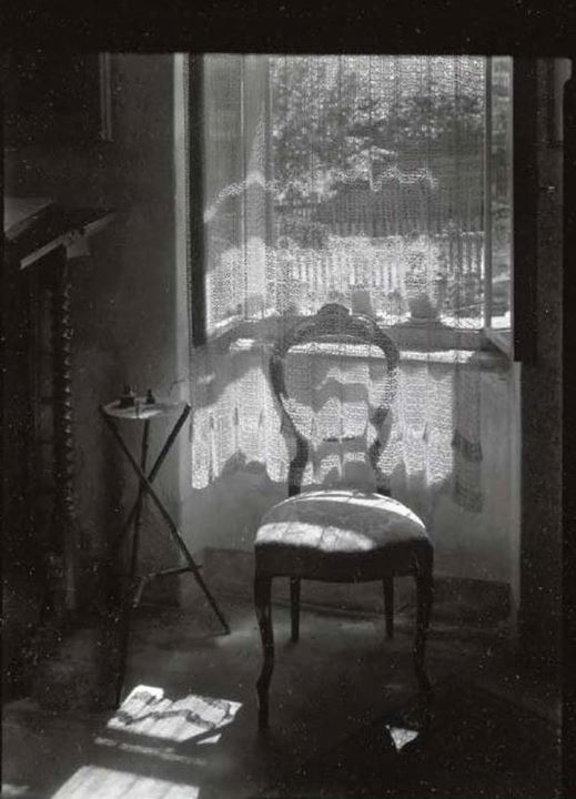 Arte,Fotografia, Josef Sudek,Open Window, 1950,Blog do MesquitaPLBlFB
