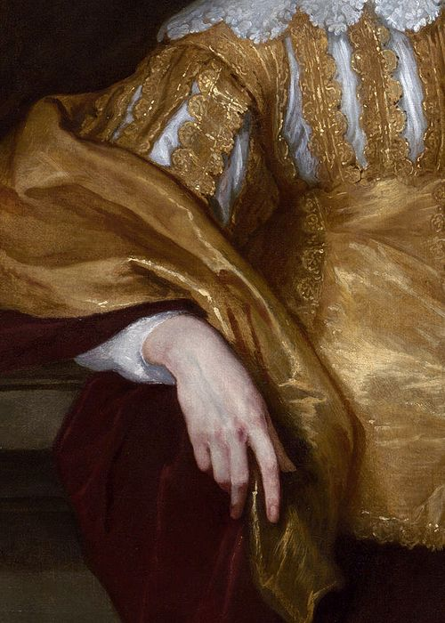Arte,Pintura,Blog do Mesquita,Anthony van Dyck, Lord John Stuart and Lord Bernard Stuart (detail), ca. 1638 (x)