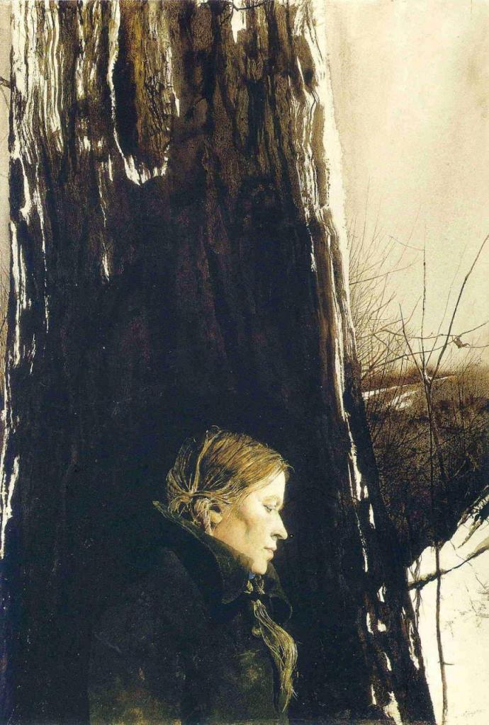Arte,Pinturas,Aquarela,Andrew Wyeth,Blog do Mesquita 03