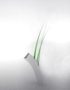 Design Vaso Bent Cerâmica 70X70X260mm