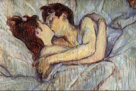 Beijo,Toulouse Lautrec,1892,Pinturas,Blog do Mesquita
