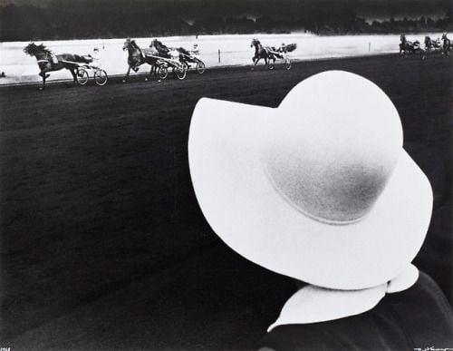 Arte,Fotografia,Robert HausserBeim Trabrennen, Gelsenkirchen,Robert Häusser, 1968