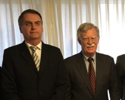 Brasil,John Bolton,Bolsonaro,USA,Política Internacional