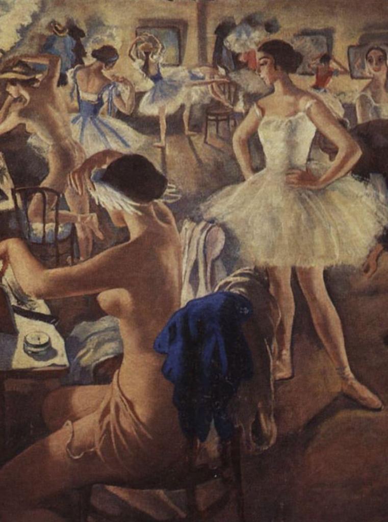 Notícias sobre Pinturas de balé através dos olhos de artistas russos