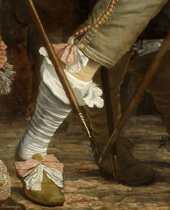 Artes Plásticas,Bartolomeus van der Helst, Detail of Militia Company of District VIII under the command of Captain Roelof Bicker oil on canvas 1643