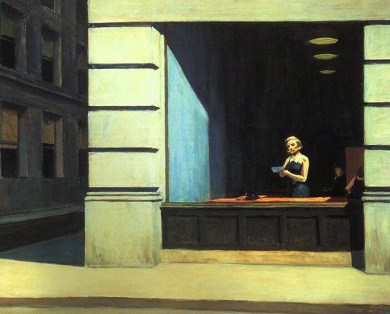Artes Plásticas,Pinturas,Edward Hopper