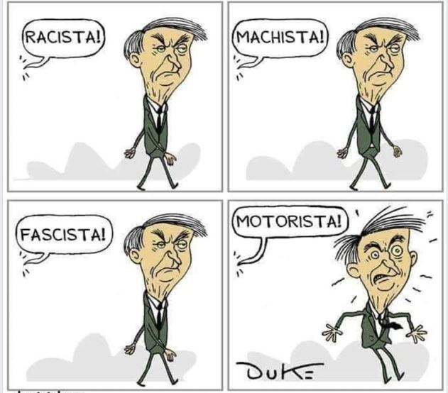 Bolsonaro,Motorista,Blog do Mesquita