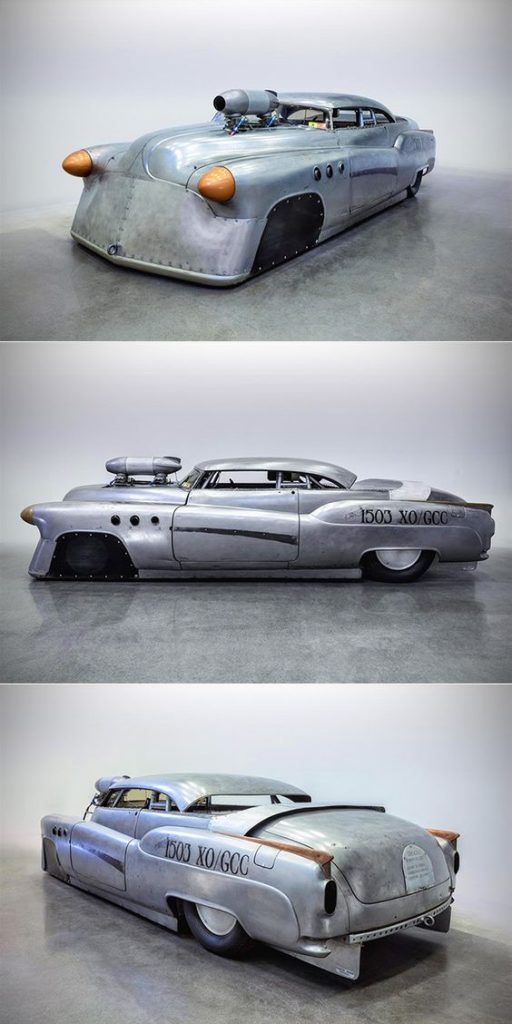 Design,Hot Roads,1952 BombsheLL Betty Buick Riviera