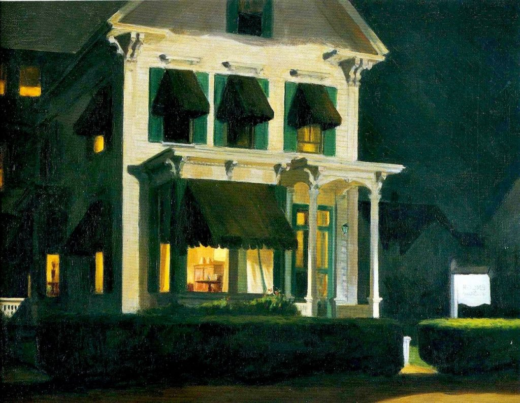 Edward Hopper Rooms for Tourist 1945
