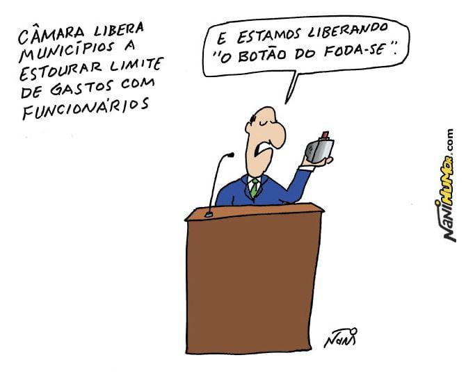 Humor,Nani,Brasil,Política Fiscal,Congresso Nacional,Políticos,Lei de Responsabilidade Fiscal,Blog do Mesquita