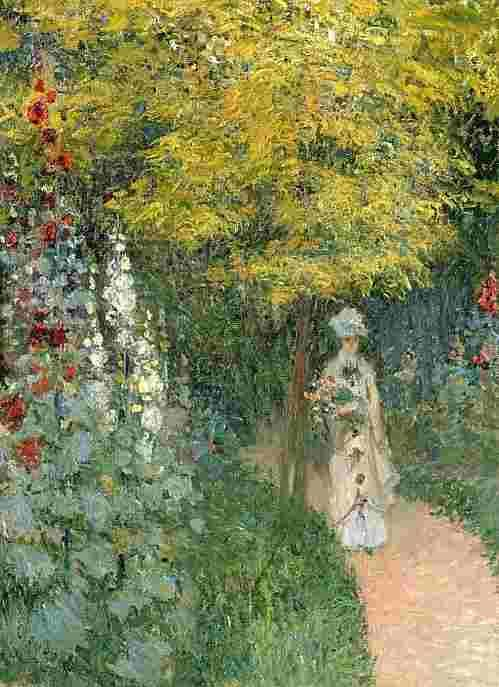 Woman With a Parasol,Claude Monet,Blog do Mesquita,Arte,Pinturas