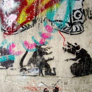 Artes Plásticas,Blog do Mesquita,Grafite,Banksy