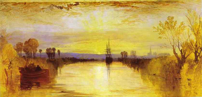 Arte,Pinturas,Turner,Blog do Mesquita,Chichester Canal