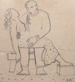 Arte,Desenho,Portinari, Blog do Mesquita