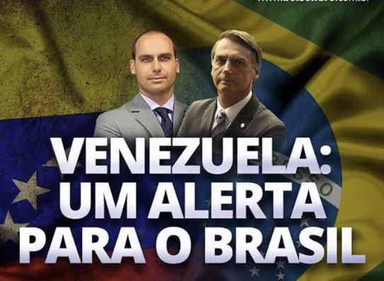 Bolsonaro,Venezuela,Blog do Mesquita