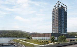 Edifício Mjøstårnet,Arquitetura,Engenharia,Tecnologia,Estrutura 01