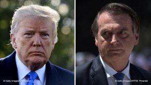 Trum,Bolsonaro,Blog do Mesquita,Brasil,USA,Estados Unidos,Política Internacional
