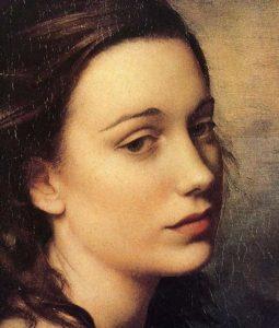 Arte,Pintura,Blog do Mesquita,Portrai of Joana Forbes,1965,Pietro Annigoni