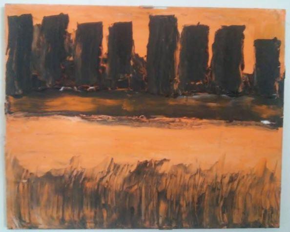 Arte,Pinturas,Blog do Mesquita,Fabio Berlenghini,Acrílica sobre tela,24x30cm,