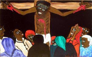 Artes Plásticas,Lucien De Cassan,Crucificação,Blog do Mesquita