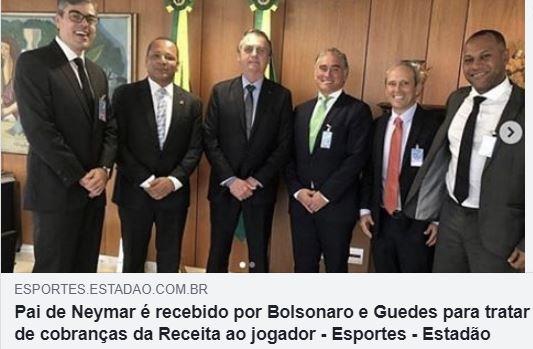 Bolsonaro,Guedes,Neymar,Brasil