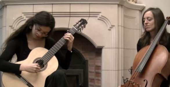 Música,Pavane,Faure,Blog do Mesquita,Anna Comellas, Rosalind Beall