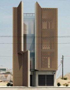 Edifício residencial Saadat Abad Mohsen Kazemianfard - fundamental approach architects. Fotografia de Parham Taghioff 00