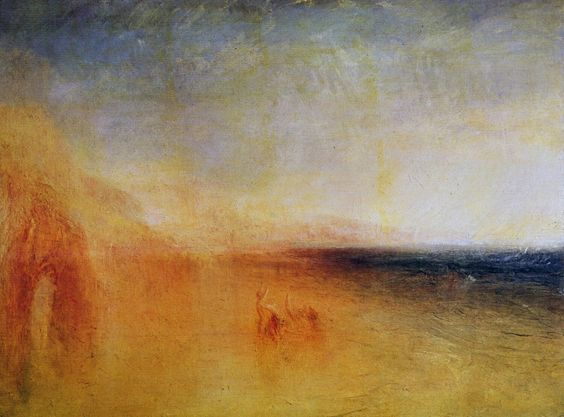 Artes Plásticas,Pinturas,Blog do Mesquita,William Turner,Sunset