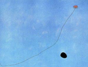 Blog do Mesquita,Arte,Artes Plásticas,Pinturas,Juan Miró,Azul III