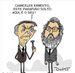 Bolsonaro,Ernesto Araújo,Blog do Mesquita