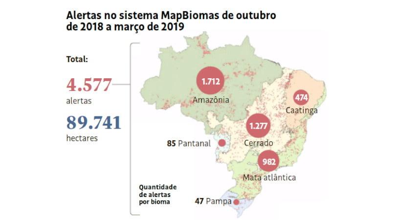 MapBiomas,Amazônia,Desmatamento,Meio Ambiente,Ecologia,Blogdomesquita