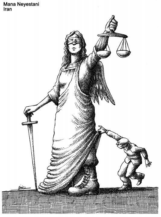 Mana Neyestan,Irã,Crítica,Poder,Ilustraçoes,Cartoon,Blog do Mesquita